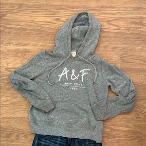 Abercrombie & Fitch Grey Sweatshirt